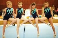 Unsere erfolgreichen Turnerinnen Marit Kuhn, Paula Reuter, Vanessa Schuchart und Sophia Trapp.